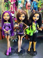 I Love Fashion Clawdeen! by Chibi-Warmonger