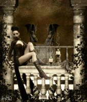Gothic Romance for Christel by Aral3D