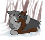 Brothers by Wolf-Goddess13