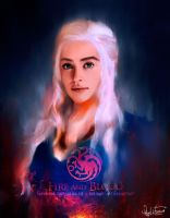 Daenerys  [speed painting] by Rakisan-Art