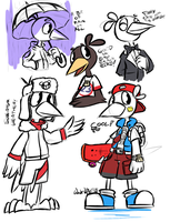 Some Gallow Doodles by Wonder-Waffle