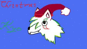 Christmas Kyo .:head:. by pokemonbreeder1