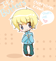 everyone knows its butters by ulsr