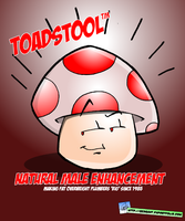 Toadstool Ad by geogant