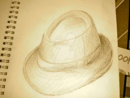 Fedora on the Floor by Falendea