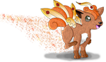 Vulpix Fairy by chikadee34