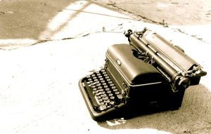 Royal Typewriter by Haeddre
