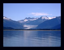 Mendenhall Glacier From Afar by Mattsma