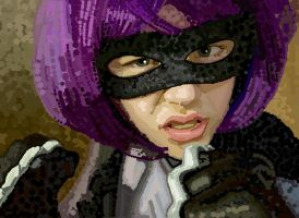 Hit Girl is Dots by HeroforPain