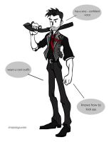 Booker DeWitt by thesimplyLexi