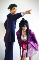 Ace Attorney: The Lawyer and the Medium by AnyaPanda
