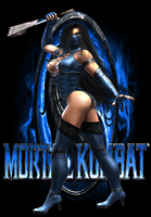 Alternate MK9 Kitana costume by Jfr12391