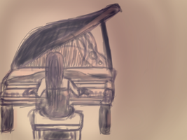 Le Piano by pandachooo