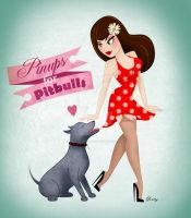 Pinups for Pittbulls 2 by sexyillustrator