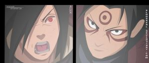 Madara Versus Sage Hashirama by Advance996