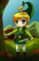 The Legend of Zelda: The Minish Cap [Link] by Shiel000