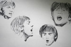 The Beatles by Wolf-Hearts