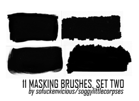 Masking Brushes 02 by soggylittlecorpses