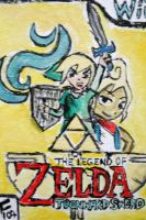 Legend of Zelda: TOONward Sword by nemutte