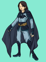 Mulan as Batman by ScrapCity