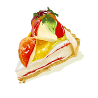 Fruits Tart by kkzt
