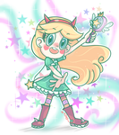 Star Butterfly by chibiirose