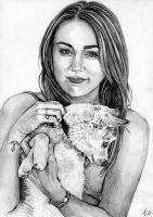 Miley and Floyd by Csillipepper