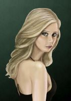 Buffy the Vampire Slayer by withanh