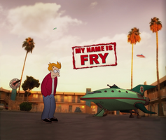 My Name is Fry by SolidSnake56