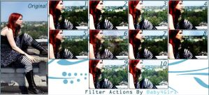 Filter Actions , Set 7 by Baby4Girl