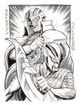 Kaigai Manga Festa - Ultraman Zero and Ultraseven by KaijuSamurai