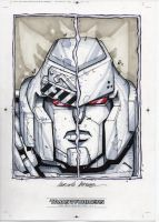Megatron sketch from the IDW TF Collection by MarceloMatere