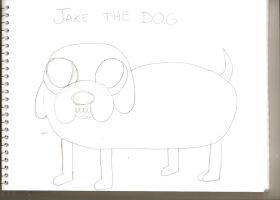 Jake the Dog by Flaveenha