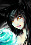 Ahri by MlleMalice