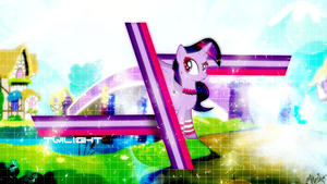 Wallpaper - Gothic Chances (Twilight Sparkle) by AntylaVX