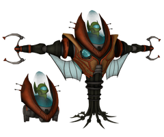 Ratchet and Clank: ACiT - Lord Vorselon by o0DemonBoy0o