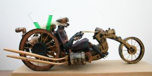 Steam Punk bike by impsandthings