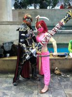 Gerudo and Ganondorf by stopthedance