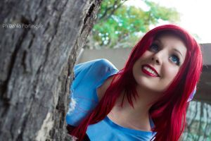 Ariel on Land - The little Mermaid Cosplay by Thecrystalshoe
