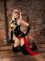 Ms. Marvel by LeapingLeigh