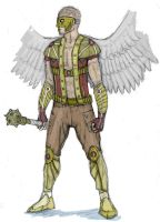 Hawkman Redesign by Ashere
