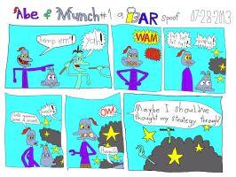 Abe and Munch #1 by BARproductions