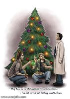 A Very Supernatural Christmas by SvenjaLiv