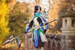 Warring Kingdom Xin Zhao - League of Legends by Paper-Cube
