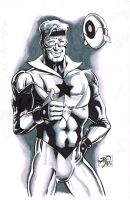 Booster Gold sketch by RougeDK