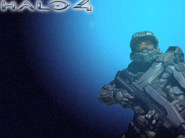Halo wallpaper by ilikestitchy