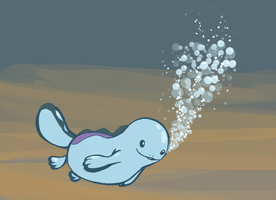 Pokeddex day 5: Quagsire by Dream--scape