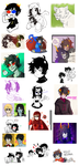stupid homestuck dump 2 by ShiroiAngelz