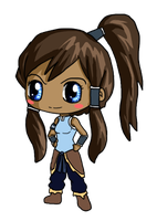 Chibi Korra by IcyPanther1