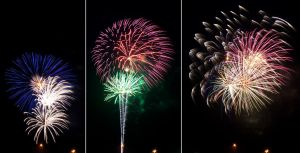 4th of July Fireworks Stock 9 by AreteStock